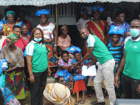Distribution of Food Item: CEPEJ in collaboration with Givefoodng Distribute food items in .....