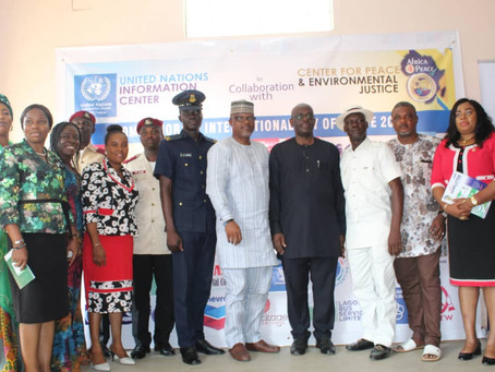 NGO Marks World Peace Day in Lagos with Funfair