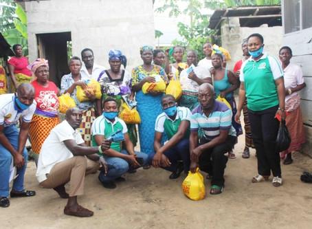CEPEJ Distributes Palliatives to Ugolo Community in Delta State...