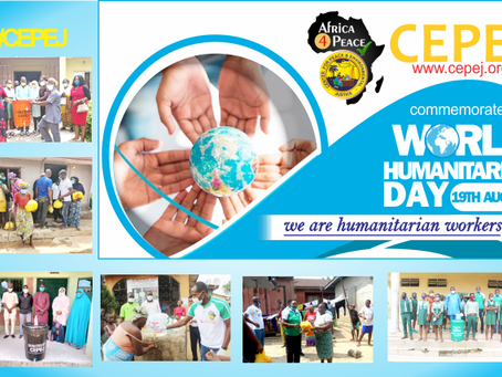 2020 World Humanitarian Day: CEPEJ joined the world to celebrate