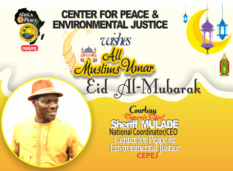 NGO Boss Celebrates with Muslims at Eid Li Kabir: Calls for Prayers to Mitigate Economic Challenges