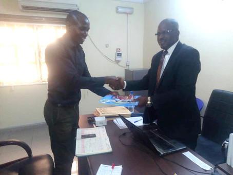 CEPEJ visit Warri, Uvwie and Environ's Development Agency - WUEDA