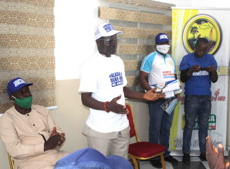 CHIEF MULADE HOSTS ALADJA OGBE-IJOH PEACE VANGUARD...