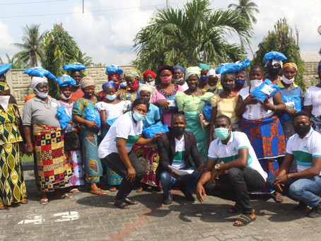 CEPEJ in collaboration with Givefood.ng distributes palliatives to vulnerable people in Delta State
