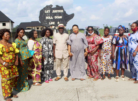 CEPEJ PLAY HOST TO GRASSROOT WOMEN DEVELOPMENT ADVOCACY FOUNDATION DELTA STATE CHAPTER