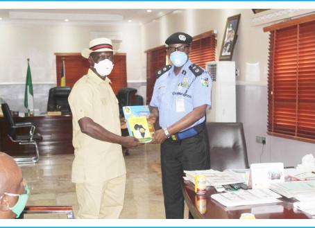 CEPEJ Visits Delta State Commissioner of Police CP Hafiz Inuwa Mni