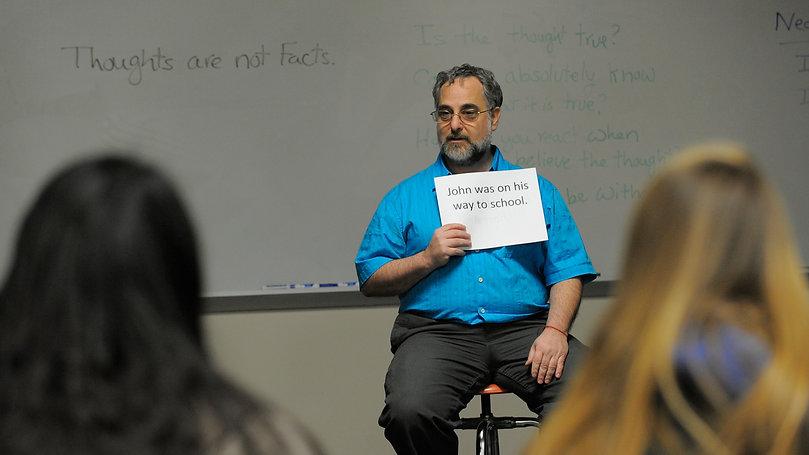 Photo of Stan Teaching