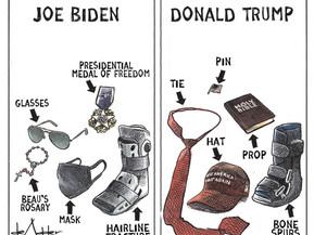 Joe Biden/ Donald Trump