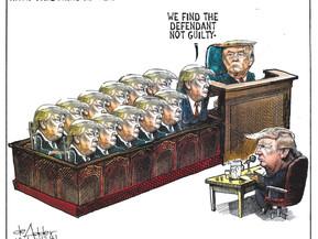 Trump Pardoning Himself