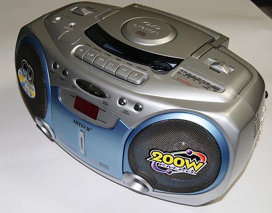 רדיו דיסק מותאם עם טיימר