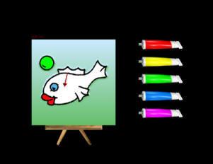 צבע בסריקה