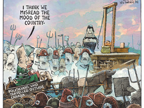 Cartoon For Chronicle Herald
