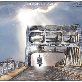 John Lewis Edmund Pettus Bridge