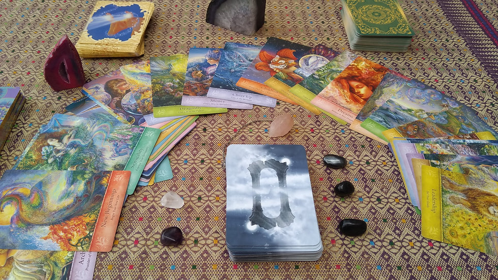 Mystic Intuitive Tarot or Oracle Card 60 Minute Reading