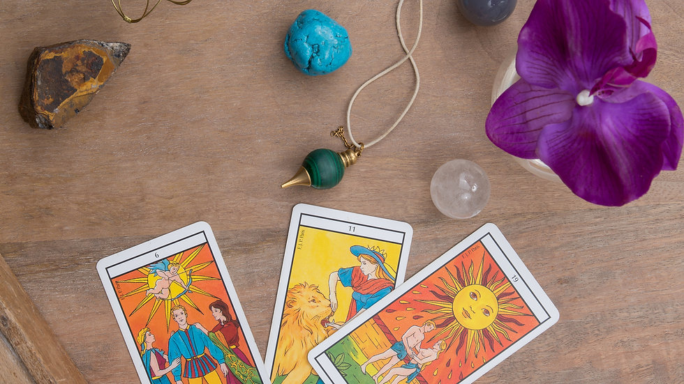 Mystic Intuitive Tarot or Oracle Card 35 Minute Reading