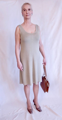 Mod.037C. DRESS in 100% CASHMERE.