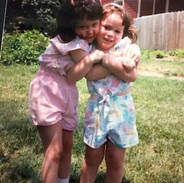 Collier Sisters Hugging!