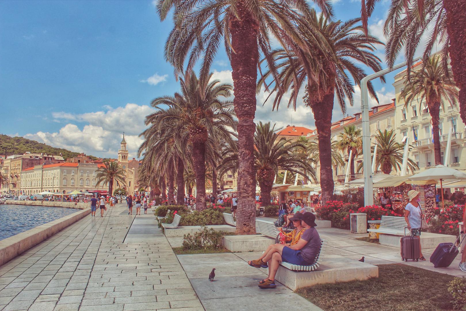 Horvaatia purjetamisreis
