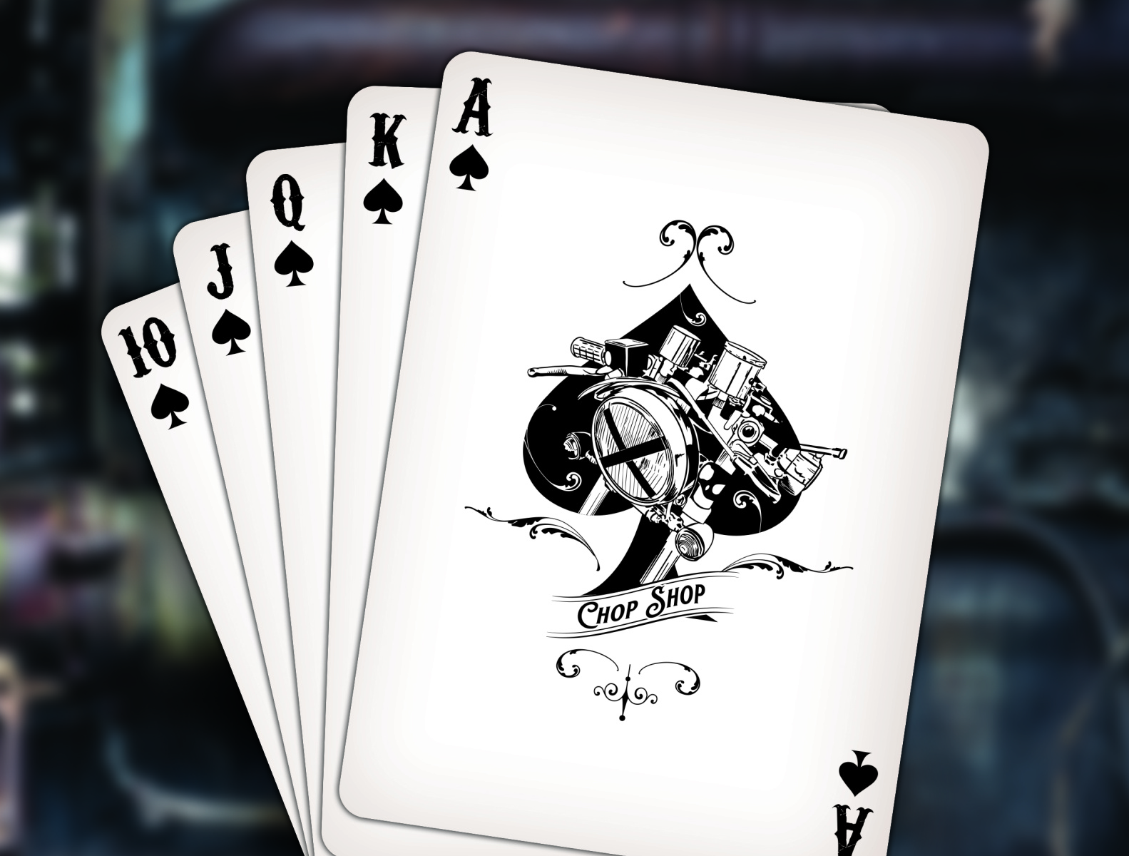 Chop Shop Playing Cards