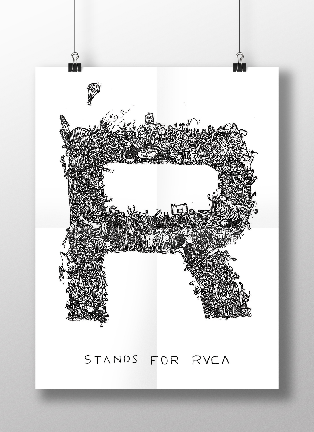 R Stands For RVCA