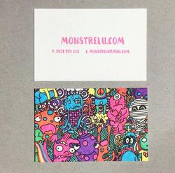 Monstrelu Letterpress BCD