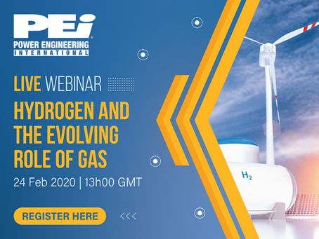 AHP Chairman speaks at PEI Webinar 24 Feb 13h GMT: Hydrogen and the evolving role of gas