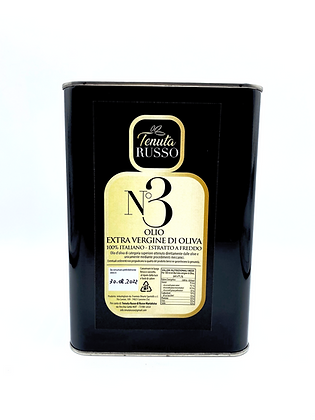 N°3 Blend - Olio Extra Vergine di Oliva Multivarietale Latta 5 lt