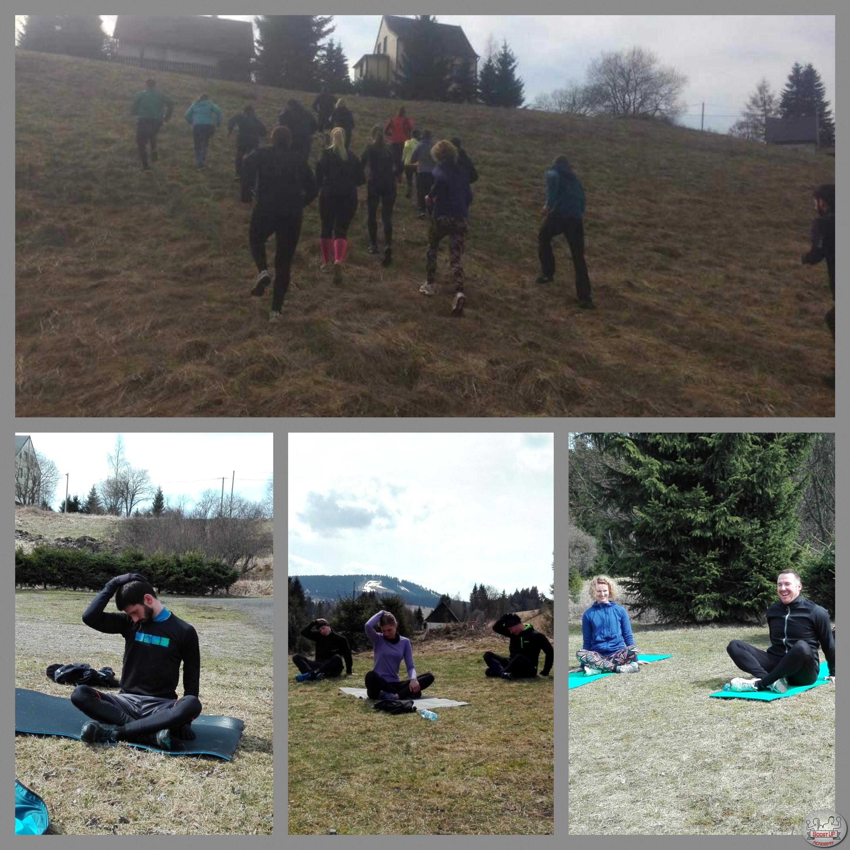 Běhání a cvičení