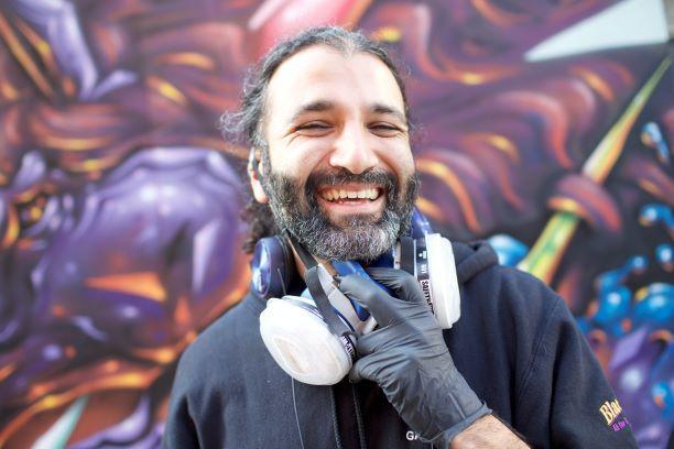 Eureka Street Art Festival   Artist: Christopher Dmise