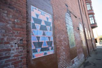 Eureka Street Art Festival   Wheatpaste in Opera Alley