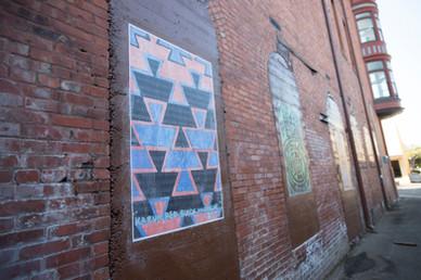 Eureka Street Art Festival | Wheatpaste in Opera Alley