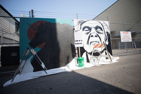 Eureka Street Art Festival   Artist: Brandon Dmise