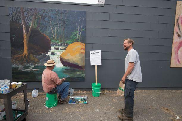 Eureka Street Art Festival | Artist: Stock Schlueter Mural