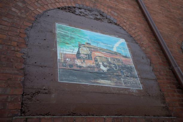 Eureka Street Art Festival   Wheatpaste Murals