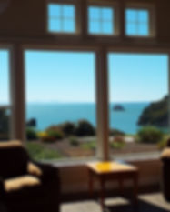 Trinidad Bay Vacation Rental - Living Ro