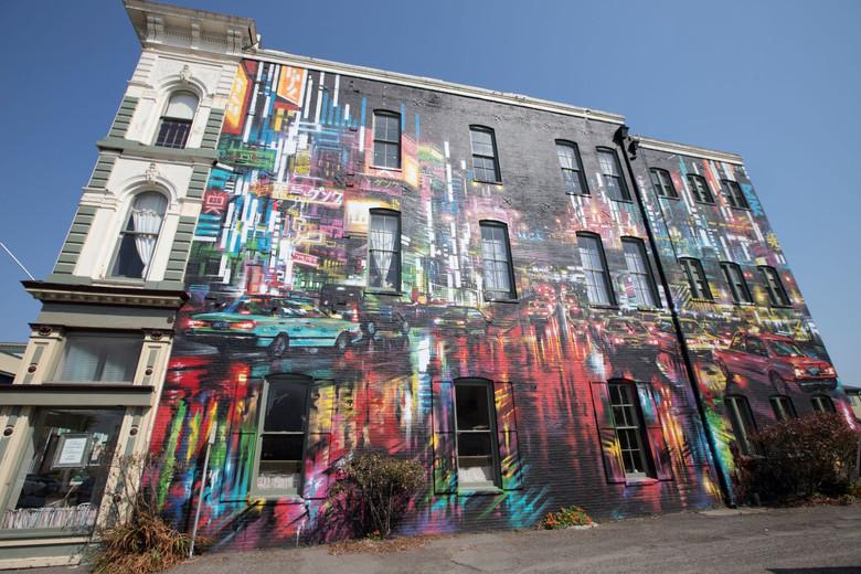 Eureka Street Art Festival | Artist: Dan Kitchener Buhne Building