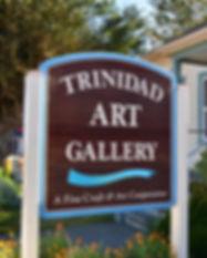 Trinidad Art Gallery Front Sign