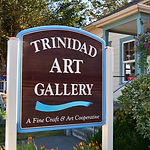 Trinidad Art Gallery Front Sign
