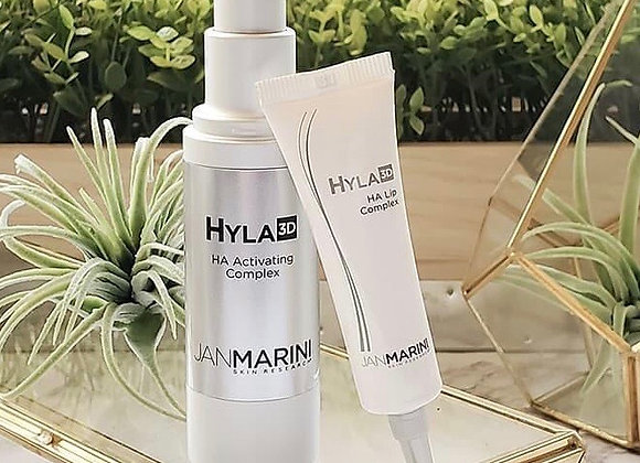 Hyla 3D Face Serum and Lip Complex Package