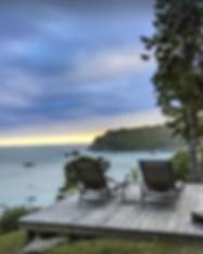 Osprey House - Deck Overlooking Ocean Vi