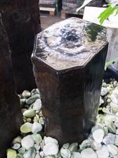 14″ Basalt Water Fountain Pillar