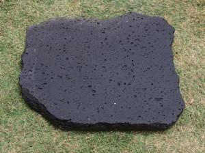 Bush hammer brushed-finish Puka Lava Paver