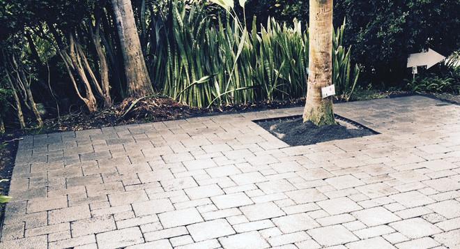 sand set pavers installation