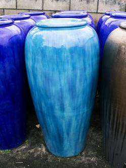 Urn Fountain – Aqua Color