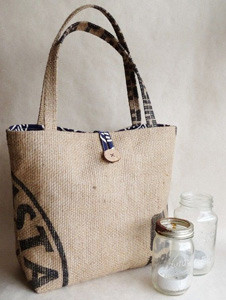 upcycled grocery tote