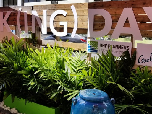 Geobunga and HHF Planners Park(ing) Day, September 21, 2018