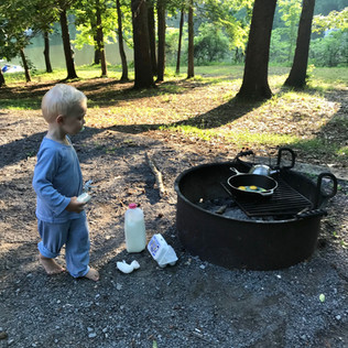 Land between the Lakes: camping hacks for unexperienced families (like us)