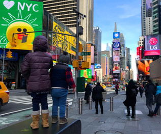 New York City: a totally different experience with kids, but definitely no less exciting