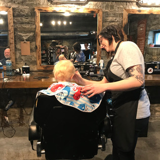 Scout's Barbershop: transforming my boys into handsome dudes