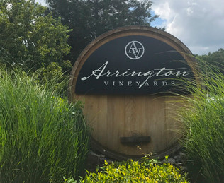 Arrington Vineyards: enjoy local wines and a spectacular view